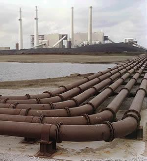 Nipsco Power Plant Pipe Installation