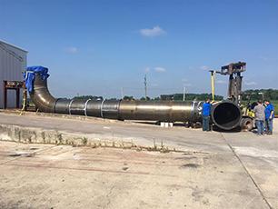 Biomass pipe
