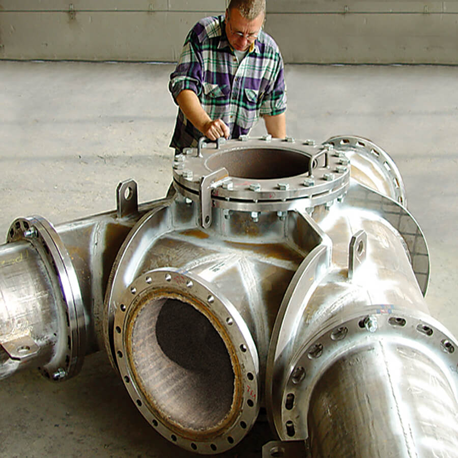 KALMETALL-W blast furnace pipe welding