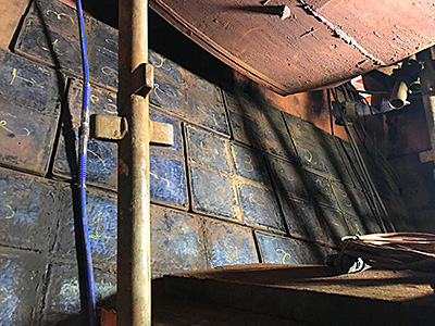 Kalenborn installed 200 panels of 390 x 390mm KALIMPACT ABR wear plates to the mine's classifier chute.